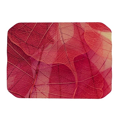 KESS InHouse Delicate Leaves Placemat