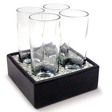 Sea Stones 5 Piece Cool Cordial Glass Set