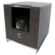 Modern Cat Designs Hider Cat Litter Box; Brown