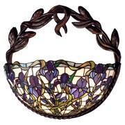 Meyda Tiffany Iris 2 Light Wall Sconce