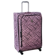 Jenni Chan Brush Strokes 360 Quattro 25'' Upright Spinner Suitcase; Red