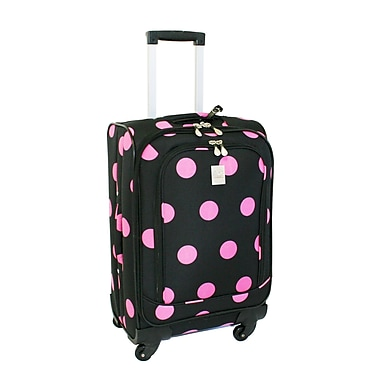 Jenni Chan Dots 360 Quattro 21'' Spinner Upright; Black Pink