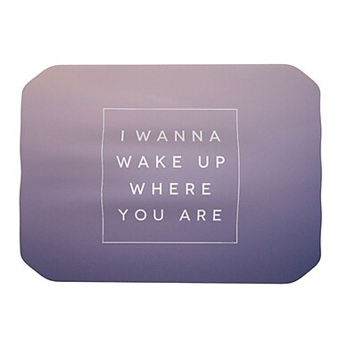 KESS InHouse Wake Up Placemat