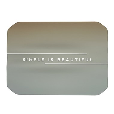 KESS InHouse Simple Beautiful Placemat