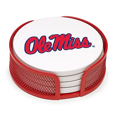 Thirstystone 5 Piece University of Mississippi Collegiate Coaster Gift Set