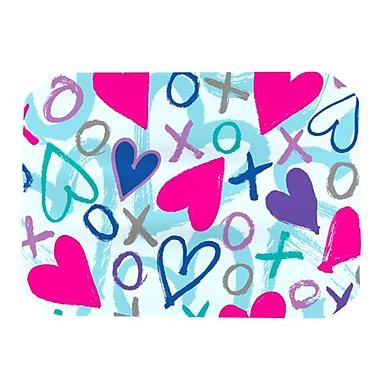 KESS InHouse Hearts A Flutter Placemat