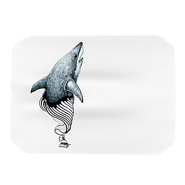 KESS InHouse Shark Record Placemat