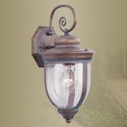 Livex Lighting Windham Outdoor Wall Lantern; Small