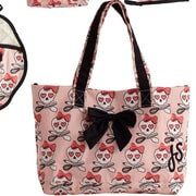Jessie Steele Lucie Cooking Bow Tote Bag