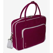 Ice Red Shine 2 Glossy Laptop Briefcase; Pink