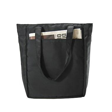 Ice Red UNI Cargo Laptop Tote Bag; Black