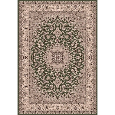 Dynamic Rugs Legacy Green Rug; Runner 2'2'' x 7'10''