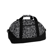 J World 30'' Lawrence Travel Duffel; Marble Grey
