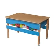 Wood Designs The Absolute Best Sand and Water Sensory Center Table; Blueberry