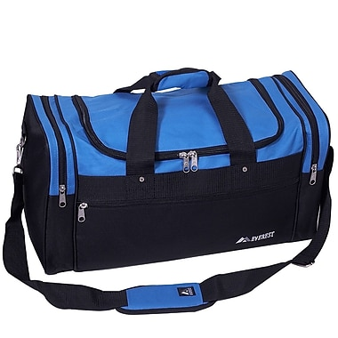 Everest 21.5'' Signature Sports Travel Duffel; Royal Blue/Black