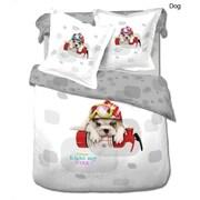 Le Vele Dog 4 Piece Duvet Cover Set
