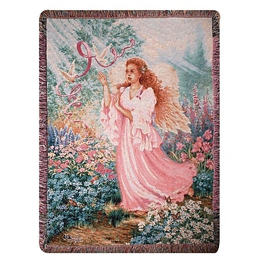 Manual Woodworkers & Weavers Dawn of Hope Tapestry Cotton Throw