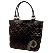 Little Earth NFL Sport Noir Quilted Tote Bag; Washington Redskins