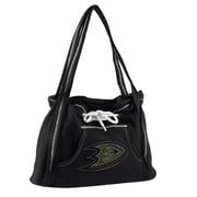 Little Earth NHL Sport Noir Hoodie Tote Bag; Anaheim Ducks