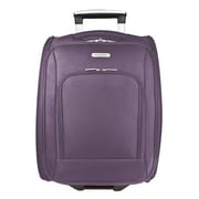 Travelon 18'' Rolling Underseat Bag; Purple