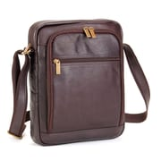 Le Donne Leather iPad/E-Reader Day Shoulder Bag; Tan