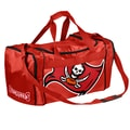 Forever Collectibles NFL 11'' Travel Duffel; Tampa Bay Buccaneers