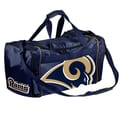Forever Collectibles NFL 11'' Travel Duffel; St. Louis Rams