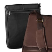 Andrew Philips Messenger Bag; Black