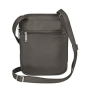 Travelon Anti-Theft Signature Slim Crossbody Bag; Truffle