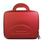 GGI International Hard Shell Carry Case for Laptop and Netbook; Red
