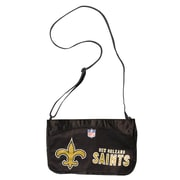 Little Earth NFL Jersey Mini Shoulder Bag; New Orleans Saints