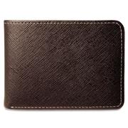 Jack Georges Prestige Slim Men's Wallet; Brown
