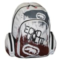 Ecko Backpack; White / Black