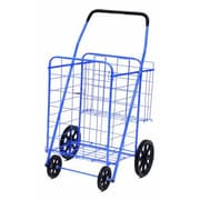 Trimmer Large Basket Shopping / Grocery Cart; Blue