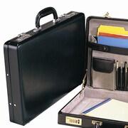Preferred Nation Bellino Slim Leather Attach  Case; Black