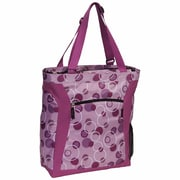 Everest Pattern Shopper Tote Bag; Lavender Bubbles/Purple