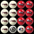 Imperial MLB Billiard Ball Set; Atlanta Braves
