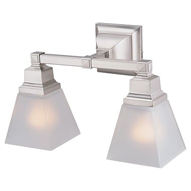 DVI Aurora 2 Light Vanity Light; Oil Rubbed Bronze