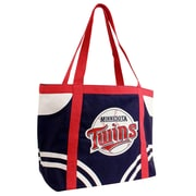 Little Earth MLB Canvas Tailgate Tote Bag; Minnesota Twins