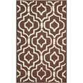 Safavieh Cambridge Dark Brown Area Rug; 3' x 5'