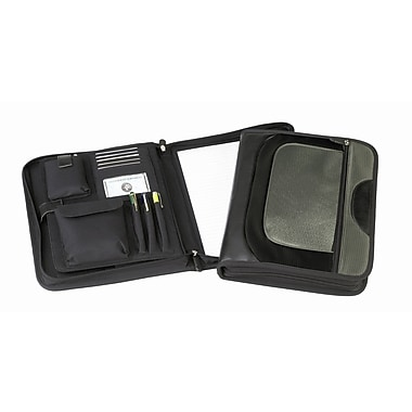 Preferred Nation Concord Zip-Around Organizer; Olive Grey