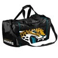 Forever Collectibles NFL 11'' Travel Duffel; Jacksonville Jaguars