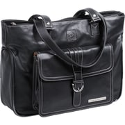 Clark & Mayfield Stafford Pro Laptop Tote Bag; Black