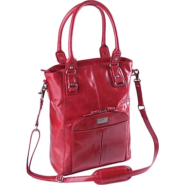 Clark & Mayfield Irvington Vintage Satchel; Red