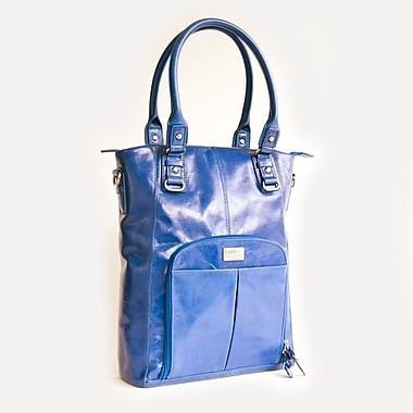 Clark & Mayfield Irvington Vintage Satchel; Cobalt Blue