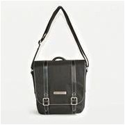 Clark & Mayfield Reed iPad Crossbody Bag; Black