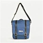 Clark & Mayfield Reed iPad Crossbody Bag; Navy