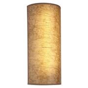 Hart Lighting 1 Light Speed Tall Wall Bracket; Maduro Paper