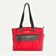 Clark & Mayfield Newport Laptop Tote Bag; Red
