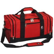 Everest 20'' Travel Duffel; Red/Black